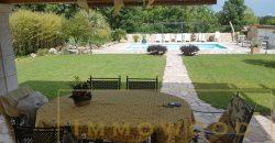 Bagnols en foret, villa avec piscine.