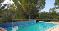 Bagnols en foret, maison avec piscine.