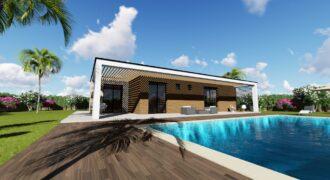 Maison contemporaine bioclimatique – Bagnols-en-Forêt