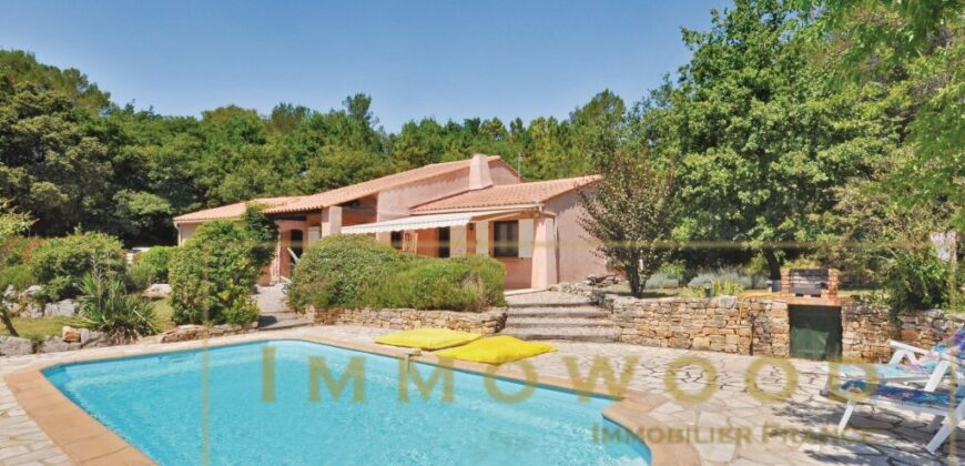 Ravissante maison avec piscine