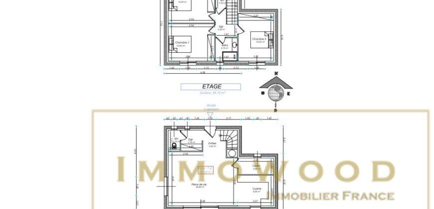 Bagnols-en-Forêt – Programme Immobilier – 4 Villas individuelles